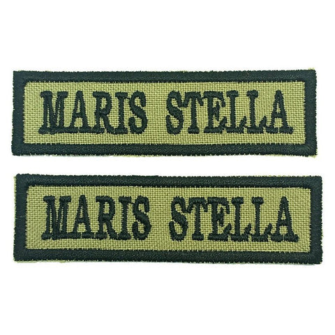MARIS STELLA NCC SCHOOL TAG - 1 PAIR - Hock Gift Shop | Army Online Store in Singapore
