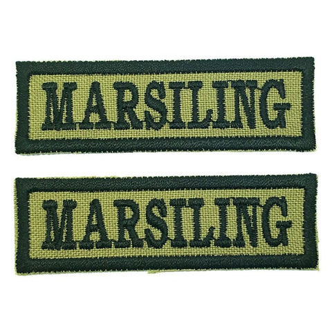 MARSILING NCC SCHOOL TAG - 1 PAIR - Hock Gift Shop | Army Online Store in Singapore