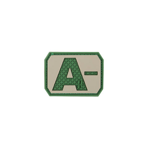 MAXPEDITION A- NEG BLOOD TYPE PATCH - ARID - Hock Gift Shop | Army Online Store in Singapore