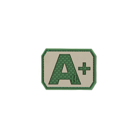 MAXPEDITION A+ POS BLOOD TYPE PATCH - ARID - Hock Gift Shop | Army Online Store in Singapore