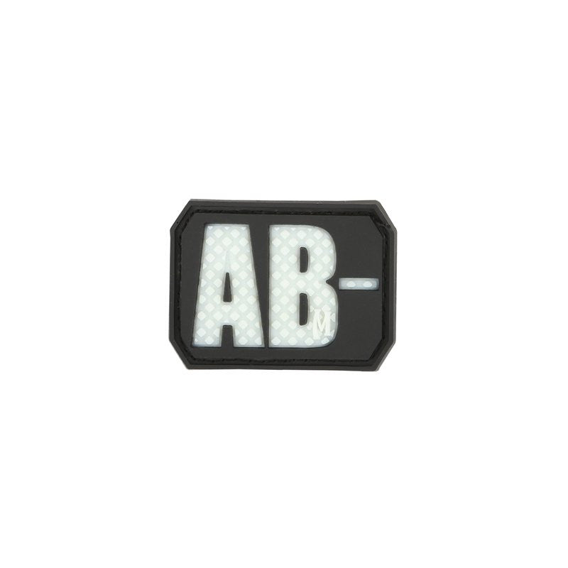 MAXPEDITION AB- NEG BLOOD TYPE PATCH - GLOW - Hock Gift Shop | Army Online Store in Singapore