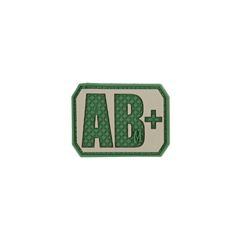 MAXPEDITION AB+ POS BLOOD TYPE PATCH - ARID - Hock Gift Shop | Army Online Store in Singapore