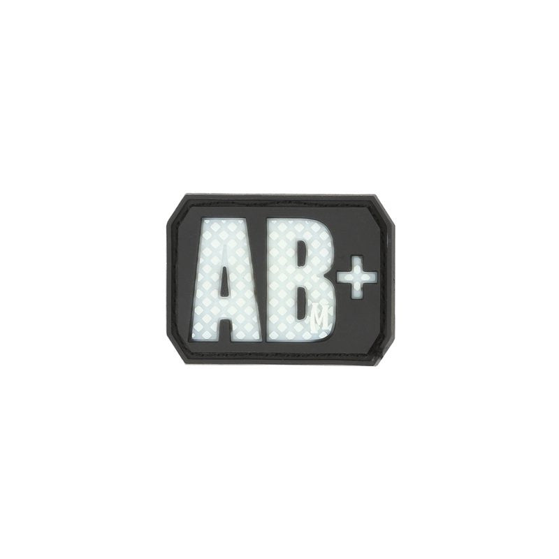 MAXPEDITION AB+ POS BLOOD TYPE PATCH - GLOW - Hock Gift Shop | Army Online Store in Singapore