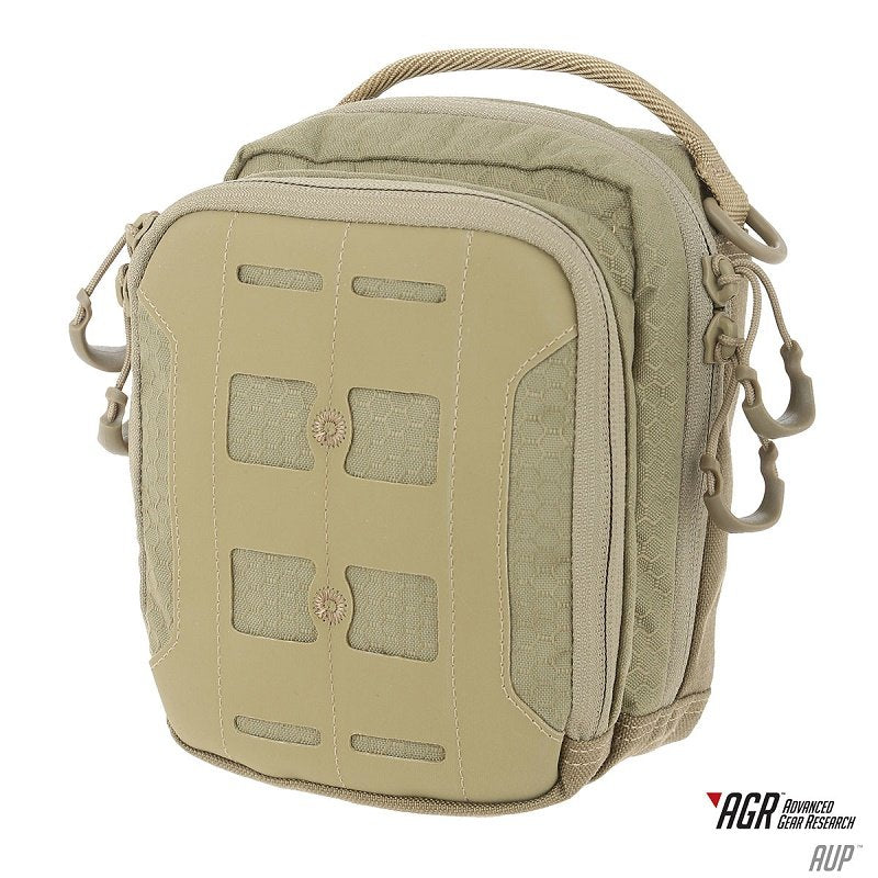 MAXPEDITION ACCORDION UTILITY POUCH (AUP) - TAN - Hock Gift Shop | Army Online Store in Singapore