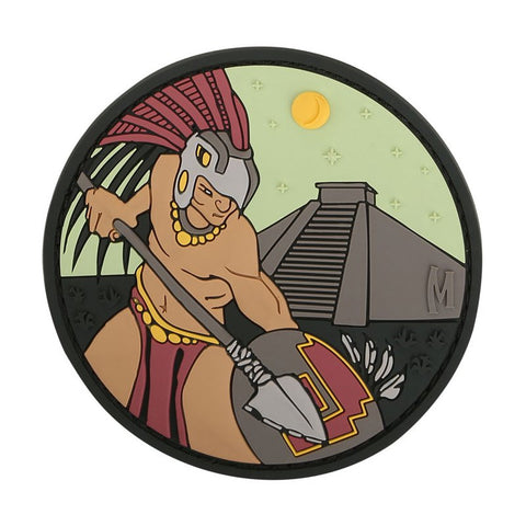MAXPEDITION AZTEC WARRIOR PATCH - FULL COLOR - Hock Gift Shop | Army Online Store in Singapore