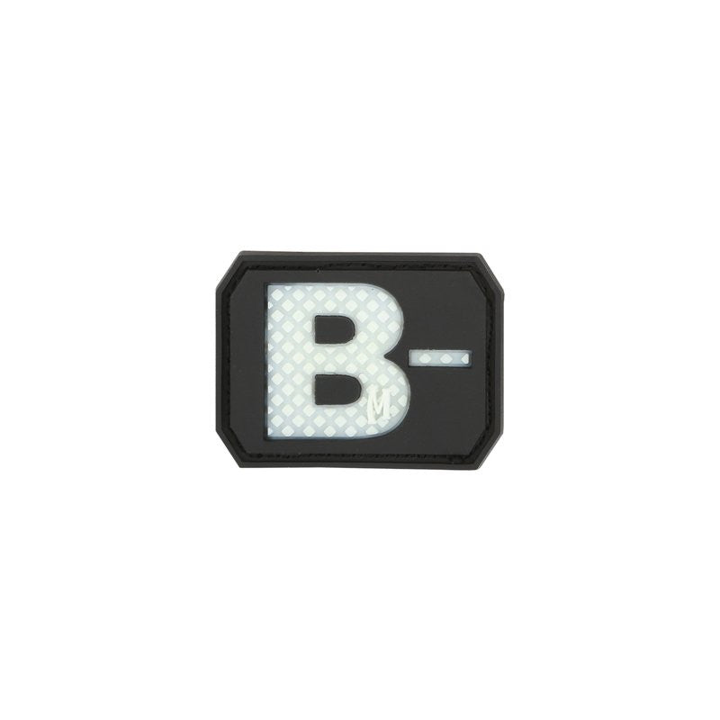MAXPEDITION B- NEG BLOOD TYPE PATCH - GLOW - Hock Gift Shop | Army Online Store in Singapore