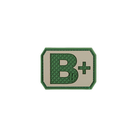 MAXPEDITION B+ POS BLOOD TYPE PATCH - ARID - Hock Gift Shop | Army Online Store in Singapore