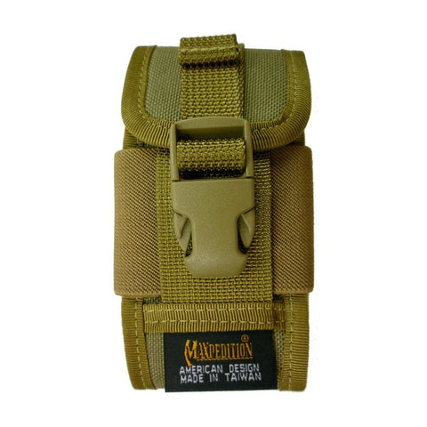 MAXPEDITION CLIP-ON PDA PHONE HOLSTER - KHAKI - Hock Gift Shop | Army Online Store in Singapore
