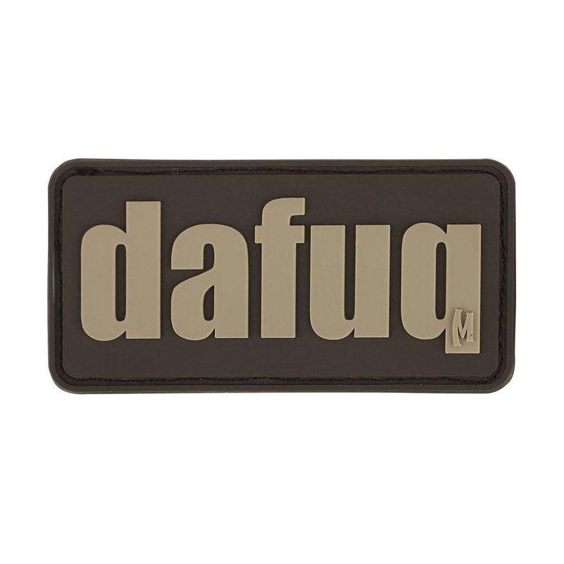MAXPEDITION DAFUQ PATCH - ARID - Hock Gift Shop | Army Online Store in Singapore