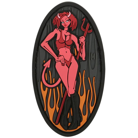MAXPEDITION DEVIL GIRL PATCH - SWAT - Hock Gift Shop | Army Online Store in Singapore