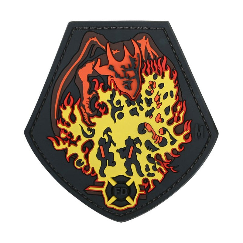 MAXPEDITION FIRE DRAGON PATCH - FULL COLOR