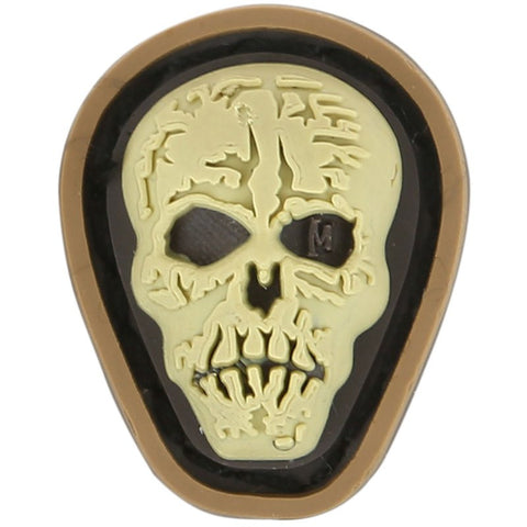 MAXPEDITION HI RELIEF SKULL MICROPATCH - ARID