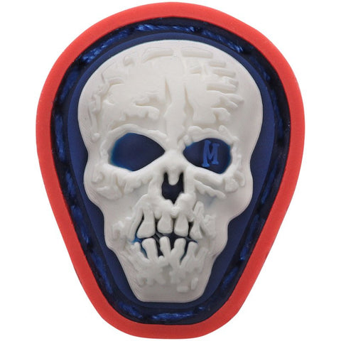 MAXPEDITION HI RELIEF SKULL MICROPATCH - FULL COLOR