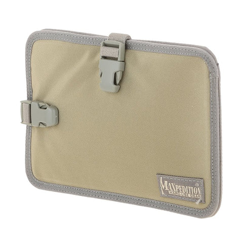 MAXPEDITION HOOK & LOOP MINI TABLET HOLDER - KHAKI FOLIAGE
