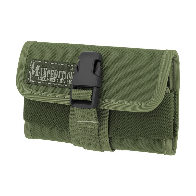 MAXPEDITION HORIZONTAL SMART PHONE HOLSTER - OD GREEN