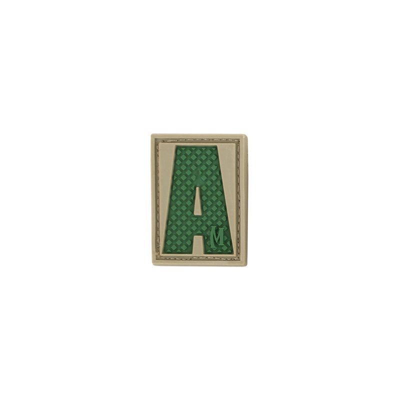 MAXPEDITION LETTER A PATCH - ARID - Hock Gift Shop | Army Online Store in Singapore