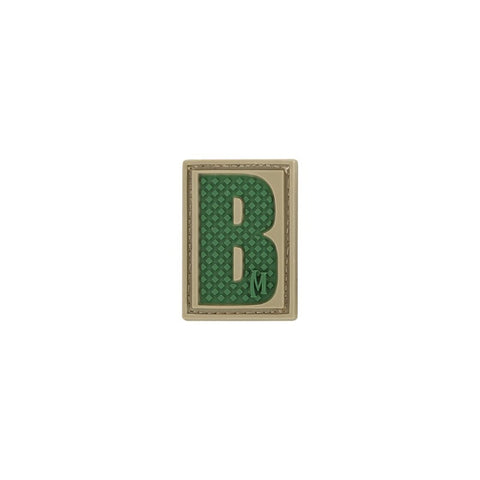 MAXPEDITION LETTER B PATCH - ARID - Hock Gift Shop | Army Online Store in Singapore