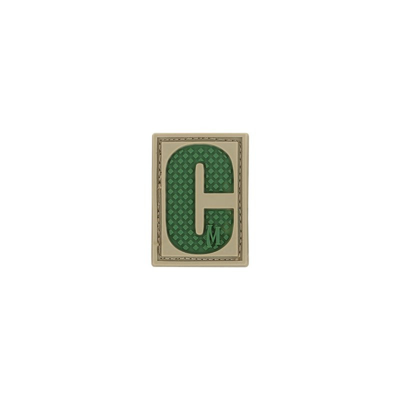 MAXPEDITION LETTER C PATCH - ARID - Hock Gift Shop | Army Online Store in Singapore