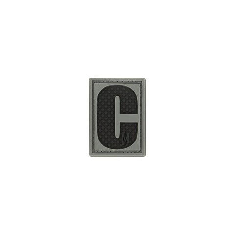 MAXPEDITION LETTER C PATCH - SWAT - Hock Gift Shop | Army Online Store in Singapore