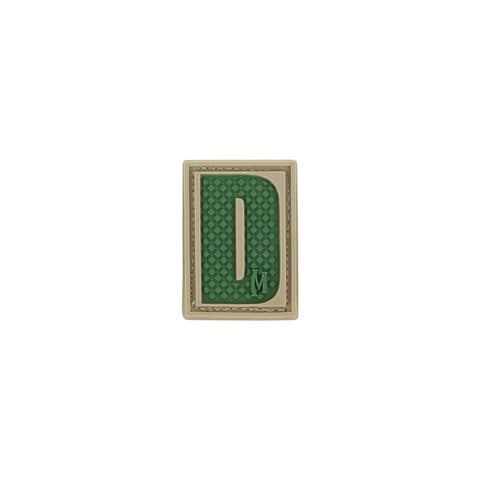 MAXPEDITION LETTER D PATCH - ARID - Hock Gift Shop | Army Online Store in Singapore