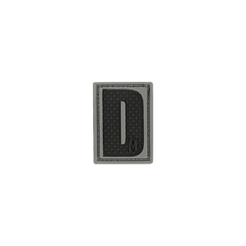 MAXPEDITION LETTER D PATCH - SWAT - Hock Gift Shop | Army Online Store in Singapore