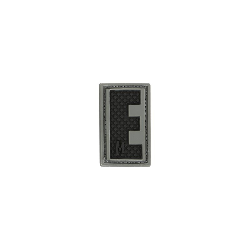 MAXPEDITION LETTER E PATCH - SWAT - Hock Gift Shop | Army Online Store in Singapore