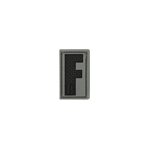 MAXPEDITION LETTER F PATCH - SWAT - Hock Gift Shop | Army Online Store in Singapore