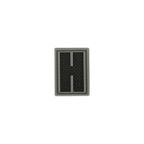 MAXPEDITION LETTER H PATCH - SWAT - Hock Gift Shop | Army Online Store in Singapore