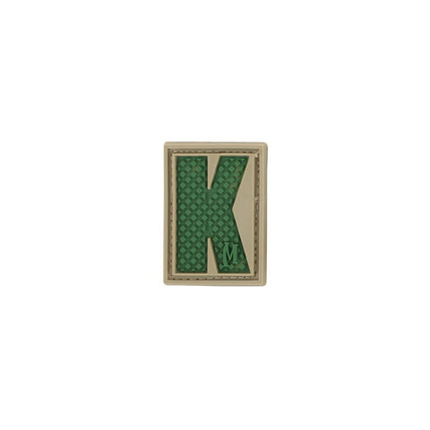 MAXPEDITION LETTER K PATCH - ARID - Hock Gift Shop | Army Online Store in Singapore