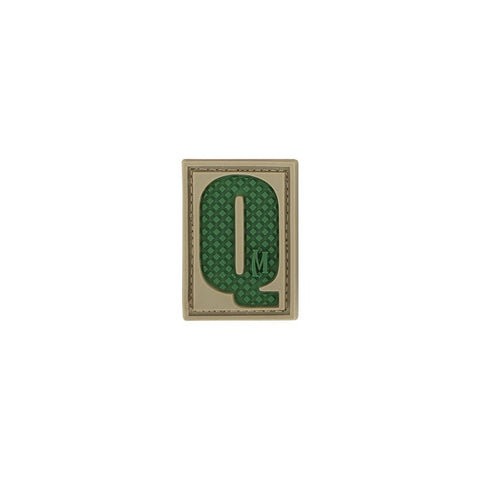 MAXPEDITION LETTER Q PATCH - ARID - Hock Gift Shop | Army Online Store in Singapore