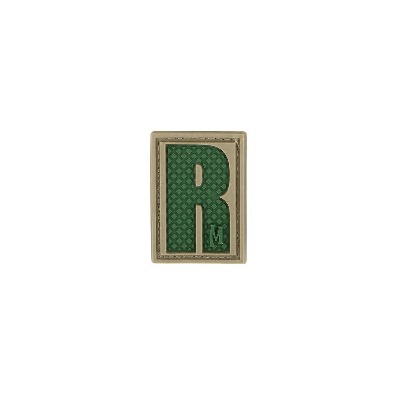 MAXPEDITION LETTER R PATCH - ARID - Hock Gift Shop | Army Online Store in Singapore
