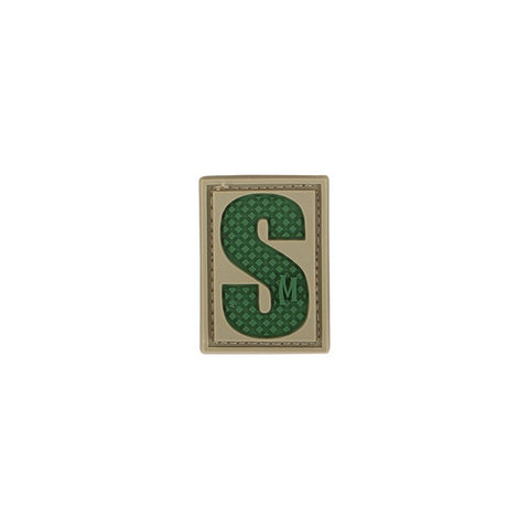 MAXPEDITION LETTER S PATCH - ARID - Hock Gift Shop | Army Online Store in Singapore