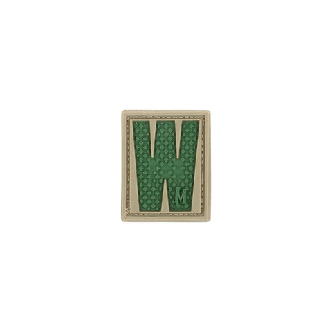 MAXPEDITION LETTER W PATCH - ARID - Hock Gift Shop | Army Online Store in Singapore