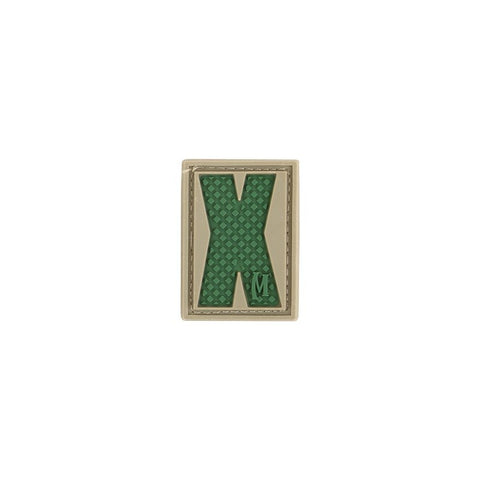 MAXPEDITION LETTER X PATCH - ARID - Hock Gift Shop | Army Online Store in Singapore