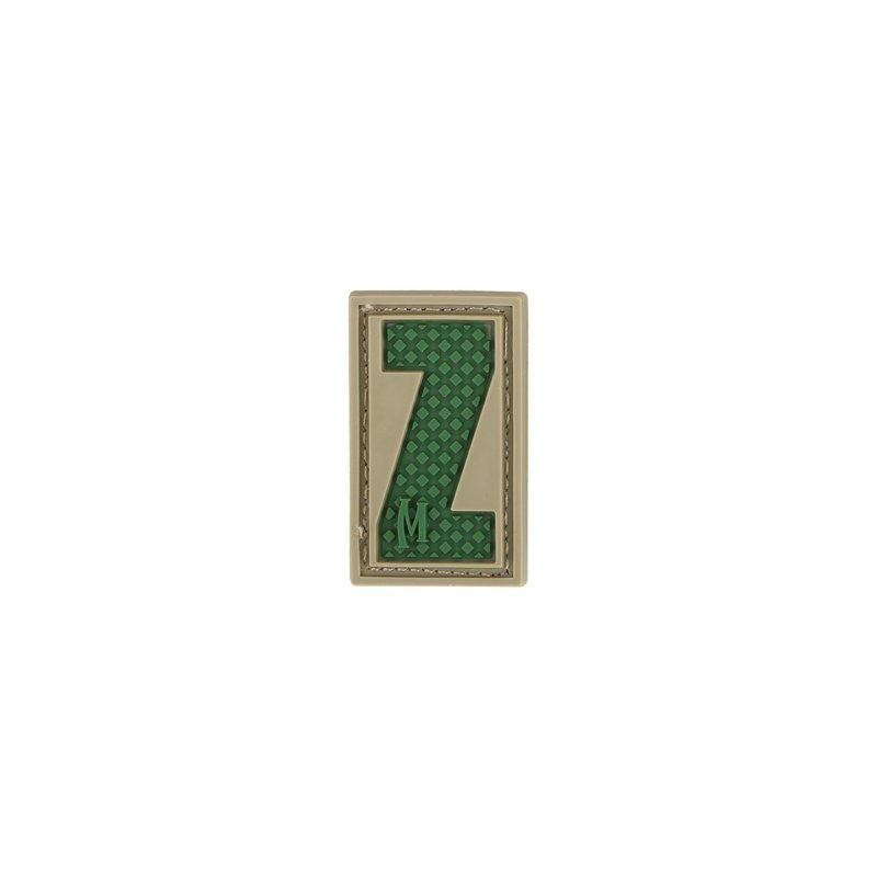 MAXPEDITION LETTER Z PATCH - ARID - Hock Gift Shop | Army Online Store in Singapore