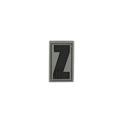 MAXPEDITION LETTER Z PATCH - SWAT - Hock Gift Shop | Army Online Store in Singapore