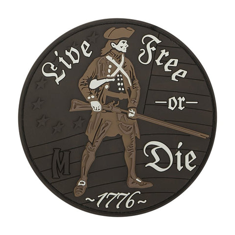 MAXPEDITION LIVE FREE OR DIE PATCH - ARID - Hock Gift Shop | Army Online Store in Singapore