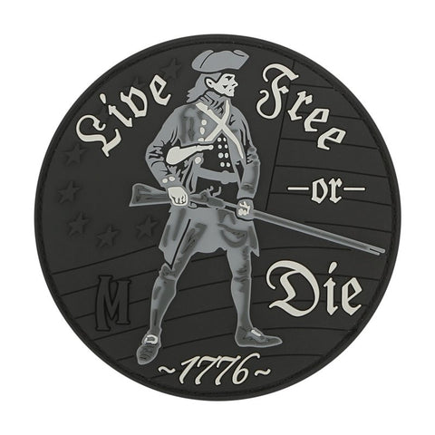 MAXPEDITION LIVE FREE OR DIE PATCH - SWAT - Hock Gift Shop | Army Online Store in Singapore
