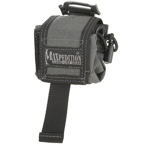 MAXPEDITION MINI ROLLYPOLLY FOLDING DUMP POUCH - WOLF GRAY