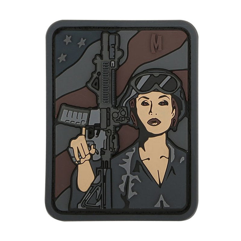 MAXPEDITION SOLDIER GIRL PATCH - SWAT - Hock Gift Shop | Army Online Store in Singapore