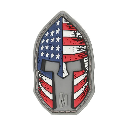 MAXPEDITION STARS AND STRIPES SPARTAN PATCH - FULL COLOR - Hock Gift Shop | Army Online Store in Singapore