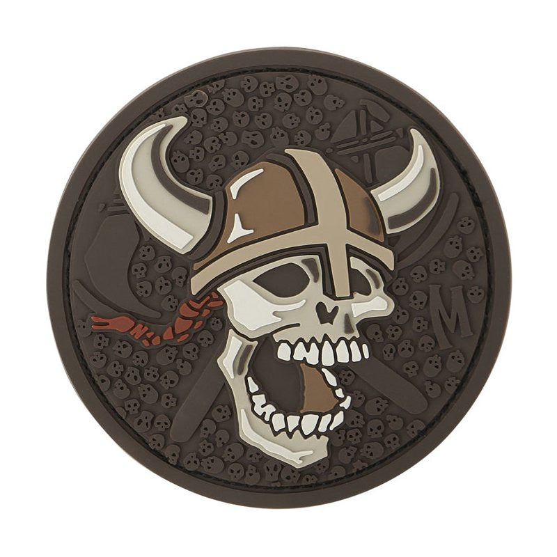 MAXPEDITION VIKING SKULL PATCH - ARID