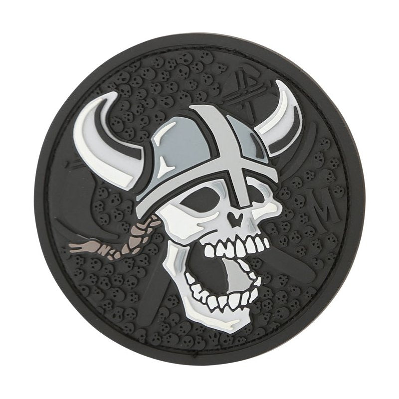 MAXPEDITION VIKING SKULL PATCH - SWAT