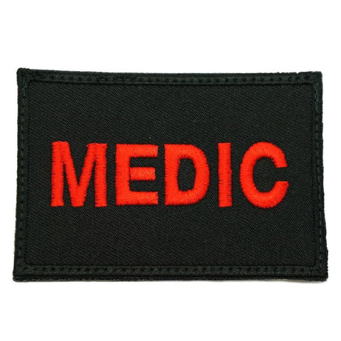 MEDIC CALL SIGN PATCH - BLACK - Hock Gift Shop | Army Online Store in Singapore