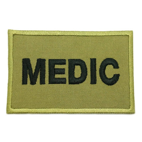 MEDIC CALL SIGN PATCH - OLIVE GREEN - Hock Gift Shop | Army Online Store in Singapore