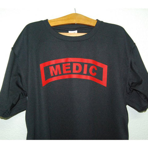 HGS T-SHIRT - MEDIC TAB (RED PRINT) - Hock Gift Shop | Army Online Store in Singapore
