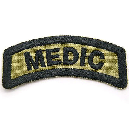 MEDIC TAB - OLIVE GREEN - Hock Gift Shop | Army Online Store in Singapore