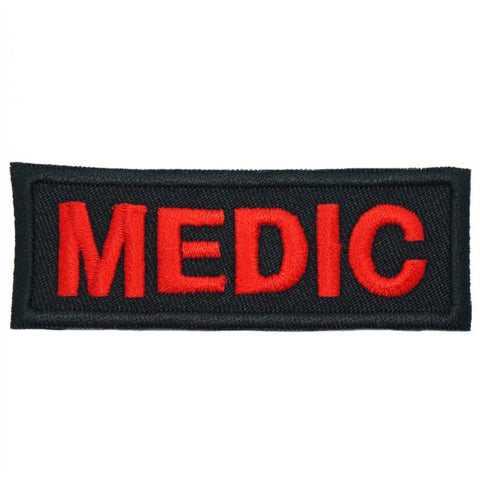 MEDIC UNIT TAG - BLACK - Hock Gift Shop | Army Online Store in Singapore