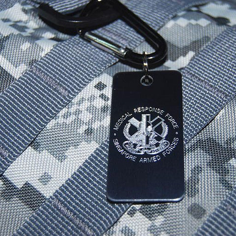 UNIT LUGGAGE TAG - MEDICAL RESPONSE FORCE (MRF) - Hock Gift Shop | Army Online Store in Singapore