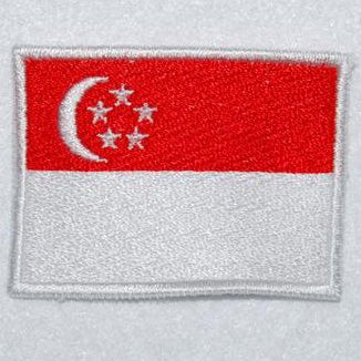 SINGAPORE FLAG - FULL COLOR (MEDIUM) - Hock Gift Shop | Army Online Store in Singapore